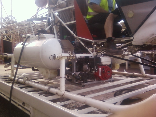 Custom Made Agricultural Spraying Equipment