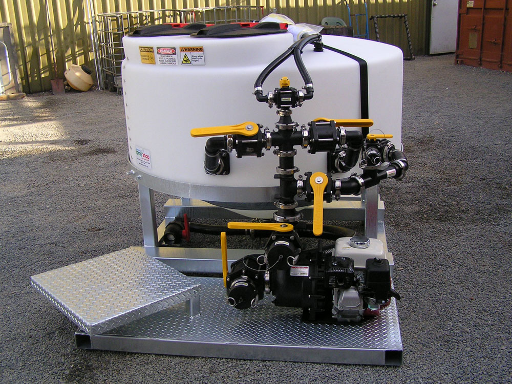 Custom Made Agricultural Spraying Equipment - The Batch master 1200