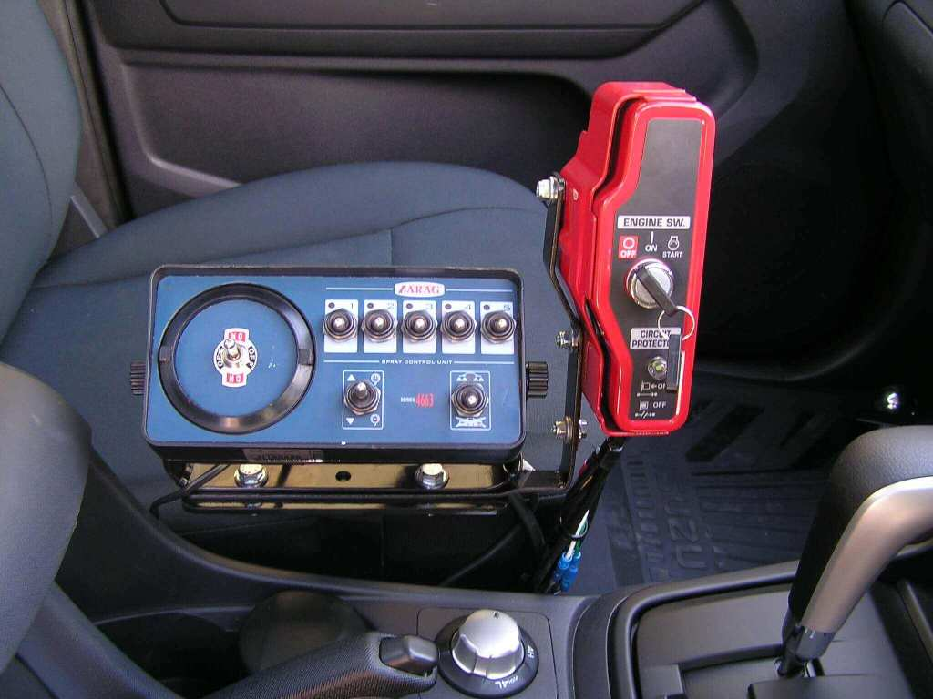 5 Section electric in cab controller with remote engine start for Honda motor