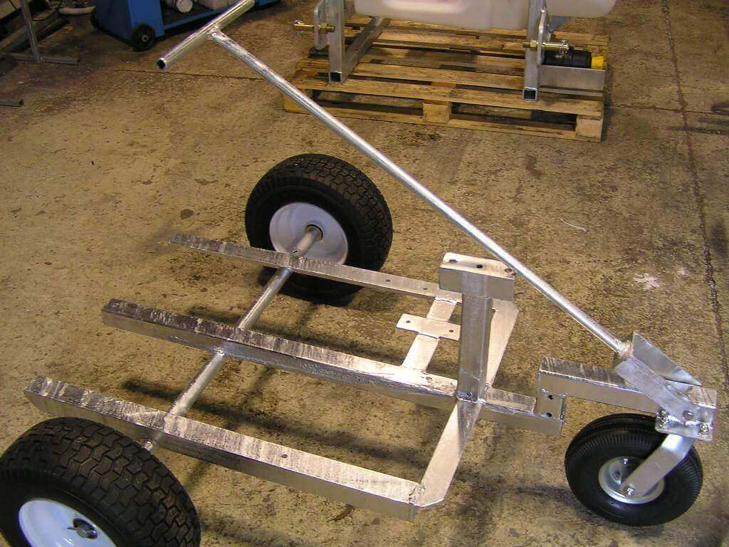 Custom Made Molly Trolly for Bowling Green