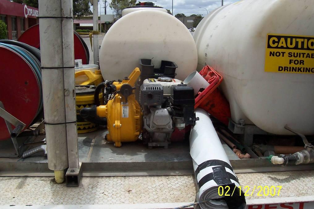 Custom tanks for Adelaide Pest Control, Regency Park