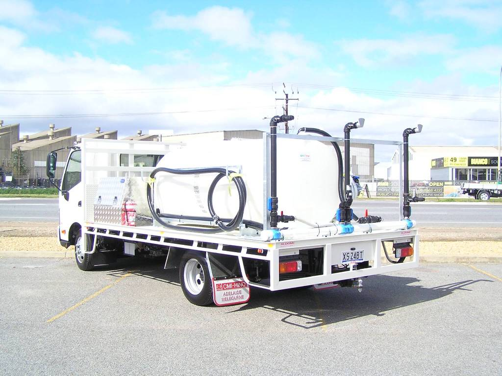 Custom Fabricated 3000 litre chicken shed decontamination unit for Australian Fumigation, Wingfield SA