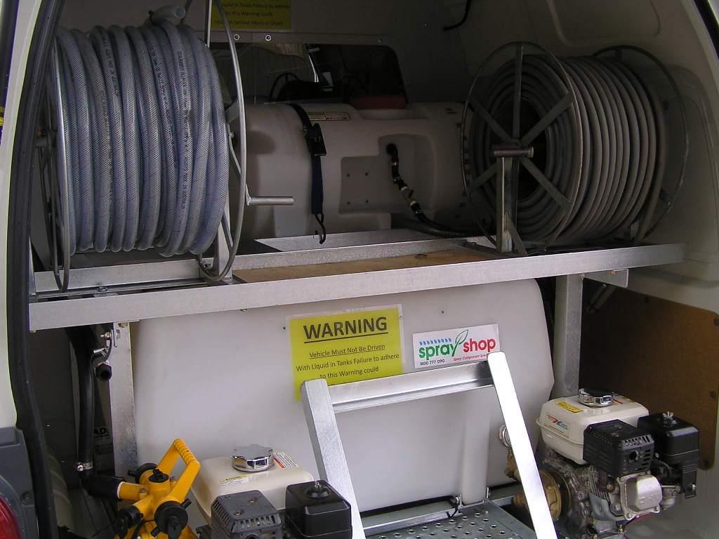 Customisation done on Adelaide Pest Control owner's van.