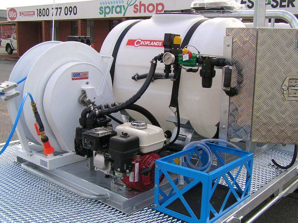 A Parks and garden turf sprayer made for Adelaide Council