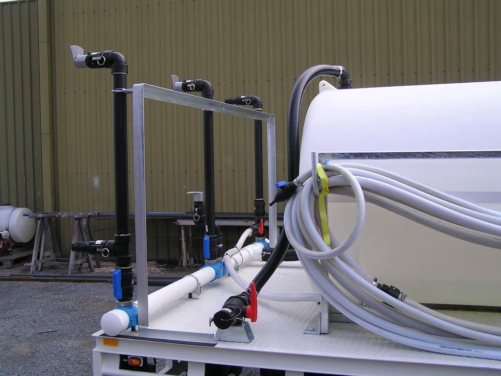 Custom Fabricated 3000 litre chicken shed decontamination unit