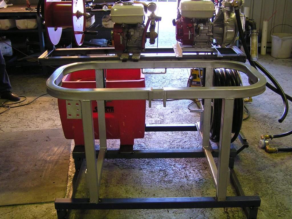 GX200AR 30 pump with secondary pump for Adelaide Pest Control